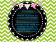 Mason Jar Color Word Banner