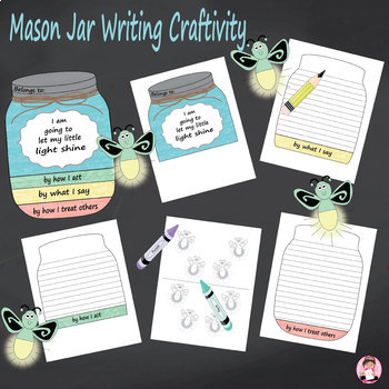 Mason Jar Writing Craftivity