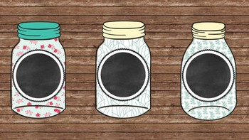 Mason Jar Labels for Student Names