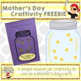 Mother's Day Mason Jar Craftivity FREEBIE