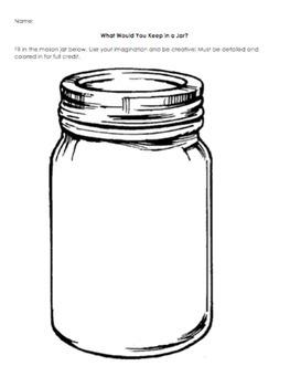 Mason Jar Subwork Worksheet