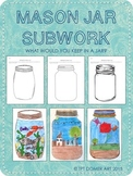 Mason Jar Subwork Worksheet