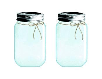 Mason Jar Tags Digital Clip Art PNG and PDF files