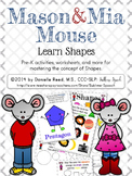 Mason & Mia Mouse: Shapes