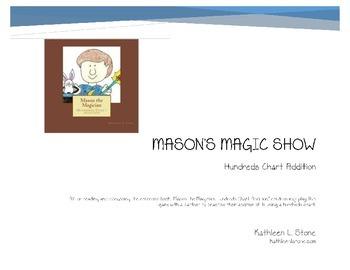Mason's Magic Show ... Hundreds Chart Addition