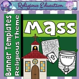 Mass Banners {Bible Religious Theme}