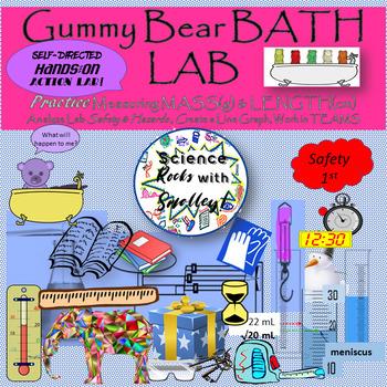 Mass Changes in Gummy Bear LAB