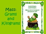 Mass: Grams and Kilograms Powerpoint