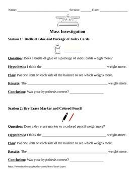 Mass Investigation