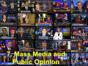 Mass Media and Public Opinion With Video BUNDLE (Government)