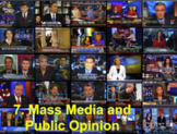 Mass Media and Public Opinion With Video BUNDLE (U.S. Government)