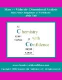 Mass ↔ Molecule: Dimensional Analysis