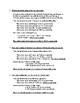 Mass, Moles and Molar Mass Practice Worksheet with Solutions