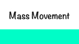 Mass Movement Erosion Powerpoint