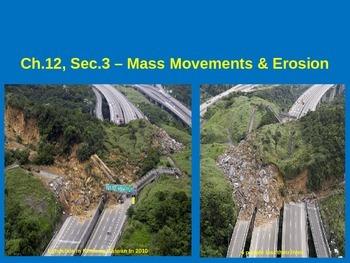 Mass Movements & Erosion