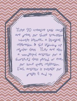 Mass Reflection Task Cards