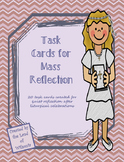 Mass Reflection Task Cards