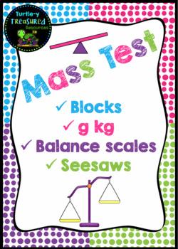 Mass Test - Metric Weight