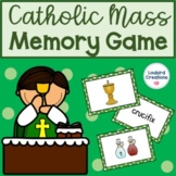 Catholic Mass Vocabulary Memory Game