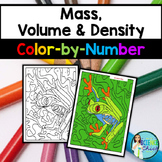 Mass, Volume & Density Color-by-Number