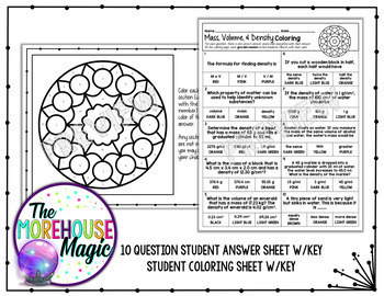 Density - worksheet by Tristanjones - Teaching Resources - Tes