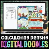 Mass Volume Density Digital Doodle | Science Digital Doodles
