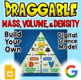 Mass, Volume, & Density - Digital Draggable Science Model