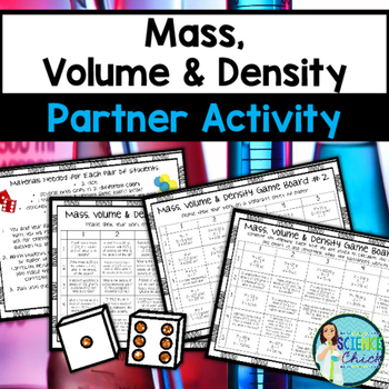 Mass, Volume & Density Partner Activity