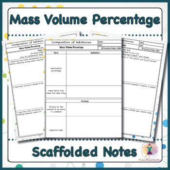 Mass Volume Percentage Scaffolded Notes