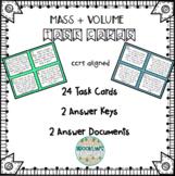 Mass & Volume Task Card BUNDLE