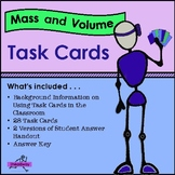 Mass & Volume Task Cards