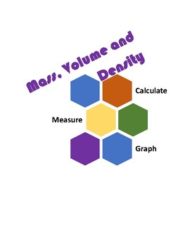 Mass, Volume and Density Lab
