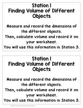 Mass, Volume and Density Practice Lab