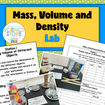 Mass, Volume and Density Practice Lab