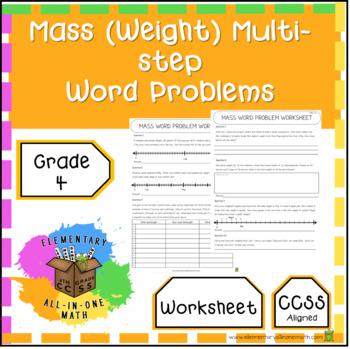 Mass And Weight Worksheet Teaching Resources Teachers Pay Teachers