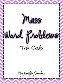 Mass Word Problem cards/game