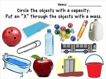 Mass and Capacity