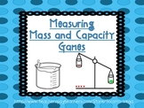 Mass and Capacity Games!!
