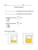 Mass and Volume Assessment- Editable