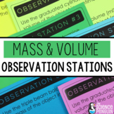 Mass and Volume Observation Stations
