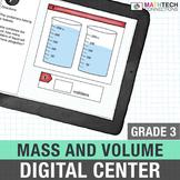 Mass and Volume - 3rd Grade Math Google Slides Activities | 3.MD.2