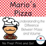 Mass and Volume Worksheet (Metric)