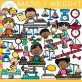 Mass and Weight Math Measurement Clip Art