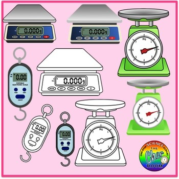 Mass and Weight Clipart