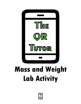 Mass and Weight Lab Activity