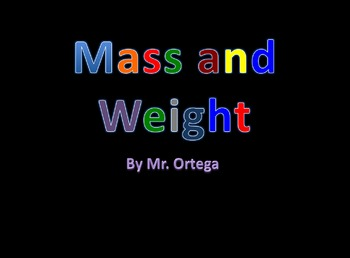 Mass and Weight Powerpoint