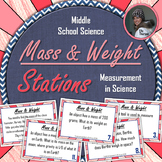 Mass and Weight Stations: A Science Measurement Activity