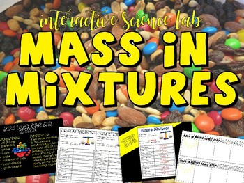 Mass in Mixtures (Discovering Mixtures and Solutions & Finding Their Mass)