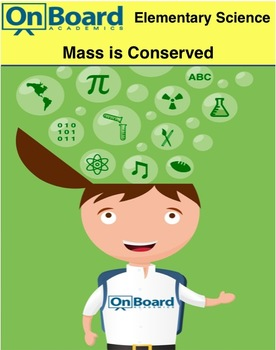 Mass is Conserved-Interactive Lesson