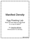 Mass vs Weight Egg Floating Lab & Handout